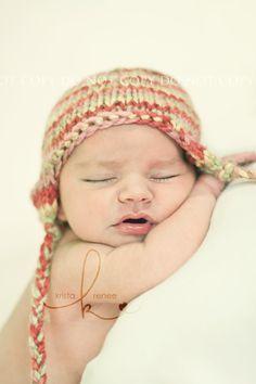 Knit newborn Hat