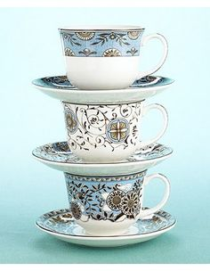 Martha Stewart Wedgewood Cups