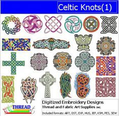 Machine Embroidery Designs - Celtic Knots