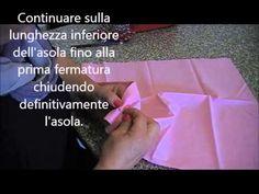 Come realizzare un'asola a mano con cucifacile.it - YouTube