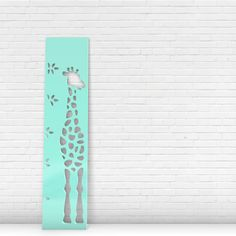 Giveaway: Giraffe Growth Chart from Numi Numi Design #giveaway