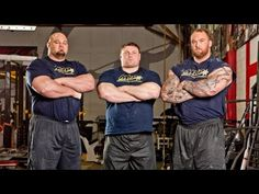 Strongman Training | BRIAN SHAW, THOR & BIG Z - YouTube
