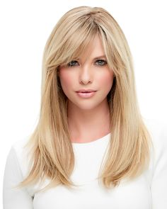 Lea – Renau Exclusive is powerful, elegant and versatile. This long style is a natural knockout. Hand tied with a monofilament cap, the remy human hair is heat-stylable in any direction. Take on fresh perspectives and new adventures with this new Jon Renau collection.