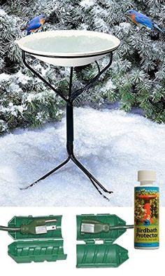Special Offers - API 970 Heated Bird Bath w/ Metal Stand Cord Connector & Cleaner - In stock & Free Shipping. You can save more money! Check It (September 01 2016 at 04:50PM) >> http://birdhouseusa.net/api-970-heated-bird-bath-w-metal-stand-cord-connector-cleaner/