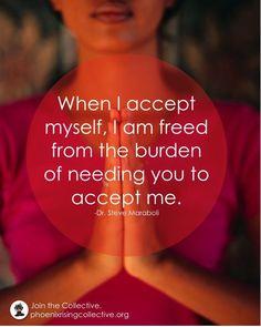 I am freed from the burden of acceptance- #ThinkBIGSundayWithMarsha