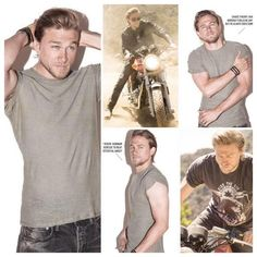 Ok, I might be obsessed....Charlie Hunnam