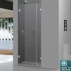 Radiance Shower Door by DreamLine. Frameless Glass Shower Doors Collection