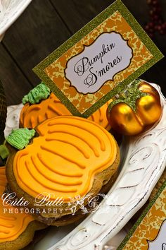 Pumpkin Patch Party Little Pumpkin Party  by CutiePuttiPaperie, $7.50