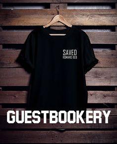a0e4a43f Saved T-shirt - Saved - Christian Tshirt - Romans 10 - Inspirational Tshirt  - Christian Tee - Graphic Tees - Bible Tshirt - Verse Tshirt