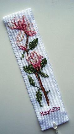 Anchor Magnolia bookmark