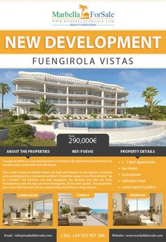 New apartments for sale in Carvajal, Fuengirola