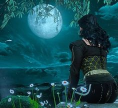 Witcher 3 Yennefer, Yennefer Of Vengerberg, The Witcher Game, White Wolf, Dragon Age, Raven, Sky, Actors, Concert