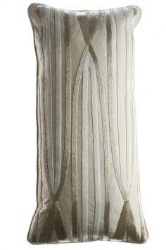 Stripes and Arrow Pillow- Calypso