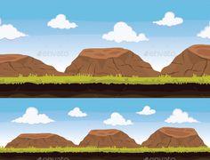 Rocky Background Download here: https://graphicriver.net/item/game-background/19493040?ref=KlitVogli