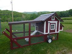 My new chicken tractor
