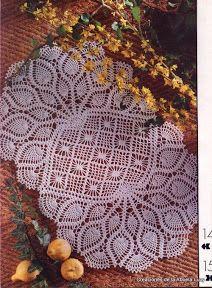 CARPETAS- HOGAR- CROCHET O GANCHILLO - Lucy Torres - Picasa Web Albums