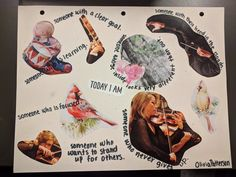 """Olivia P. created this poem collage for """"Today I Am"""" by Janet Wong during WWU Poetry Mini Camp Collages, Poems, Mini, Movie Posters, Poetry, Film Poster, Verses, Collage, Billboard"""