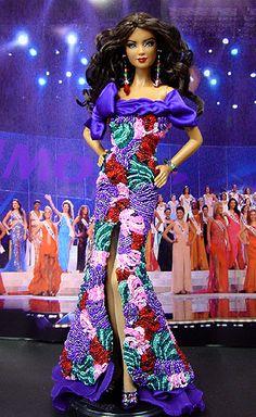 OOAK Barbie NiniMomo's Miss Dominican Republic 2007/2008
