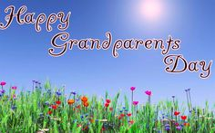 For The Grandparents National Grandparents Day, Happy Grandparents Day, Grandchildren, Things To Do, Neon Signs, Events, Holidays, Rock, Board