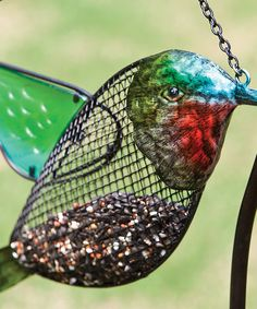 Love this Mesh Hummingbird Feeder on #zulily! #zulilyfinds