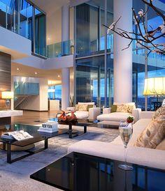 Modern Villa by Hill House Interiors | HomeAdore | Decoração e casa ...