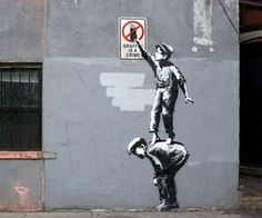 Banksy launches New York City street art show with satirical cellphone audio tour