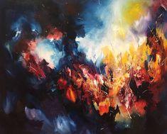 Artista com sinestesia vê cor em músicas e pinta suas favoritas
