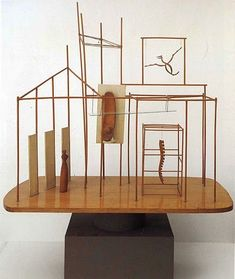The Palace at 4 a.m. by Alberto Giacometti (MOMA)  via Le Divin Fumoir Bohémien