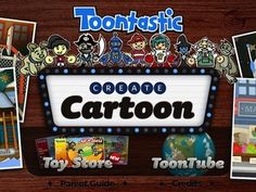 FREE Toontastic Storyboard (FREE) - this version would be best used with upper elementary and secondary