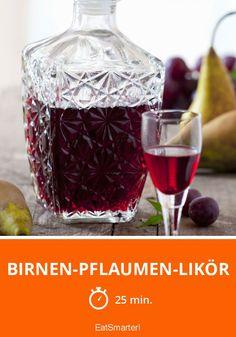 Birnen-Pflaumen-Likör - smarter - Zeit: 25 Min. | eatsmarter.de