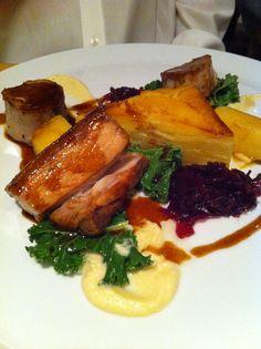 Dinner at Fox Nr Letchworth