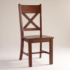 Mahogany Verona Side Chairs, Set of 2 | World Market