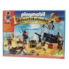 Playmobil - Adventskalender Geheimnisvolle Piratenschatzinsel - 6625
