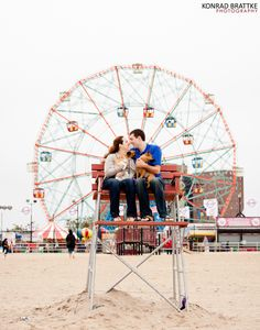 coney island engagement shoot - Google Search