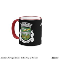 Amadora Portugal Classic Coffee Mug