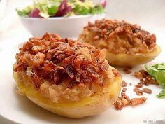 Con sabor a canela: Patatas rellenas con paté de cabrales a la sidra