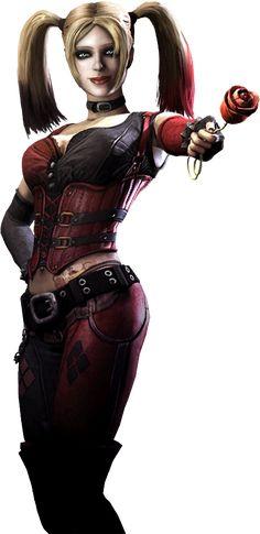 Injustice: batman arkham city  - Harley Quinn