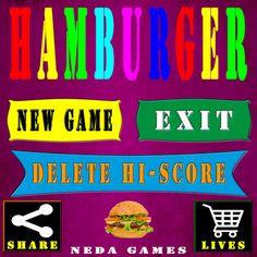 Hamburger es un juego muy adictivo y entretenido.  Prepárate para coger los ingredientes y preparar la hamburguesa.