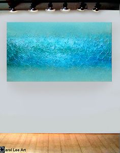 MODERN ART organic ultra abstract paintings by TheartistCarolLee, $425.00