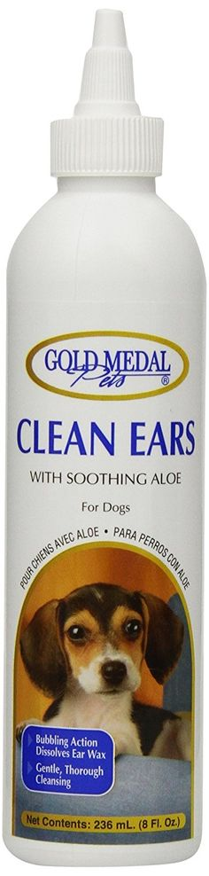 Gold Medal Pets Clean Ears for Dogs and Cats, 8-Ounce >>> Awesome cat product. Click the image : Cat Supplies