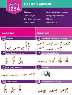 BBG 12 Week Program. Weeks 2 & 4 Full Body Workout Bikini Body Guide Kayla Itnes