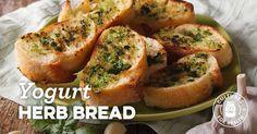 Yogurt Herb Bread