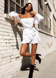 Look Street Style, Street Style Summer, Street Styles, Mode Outfits, Fashion Outfits, Womens Fashion, Fashion Tips, Fashion Trends, Dress Fashion