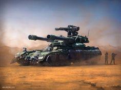 Tank Concept Art by Jan Urschel