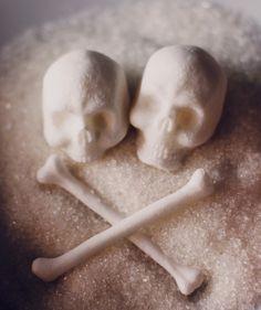 Skull and Crossbones sugar cubes