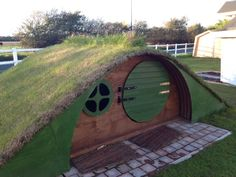 One of our hobbit holes we have built within our Cheshire demonstration site.