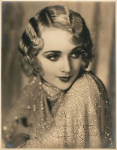 Carol Lombard.    vintagesonia:    Carole Lombard, 1929. Photo by William E. Thomas
