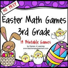 Easter Math Games Third Grade by Games 4 Learning gives you fun, Easter math for the classroom.