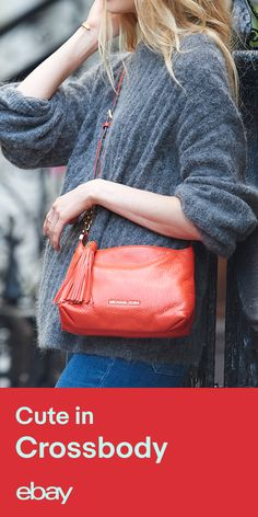 Cute, portable, and colorful. Shop eBay for Michael Kors crossbody bags.