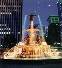 Cincinnati Ohio - Fountain Square
